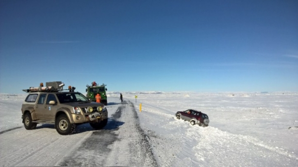 myrdalssandur_car_off_road_accident