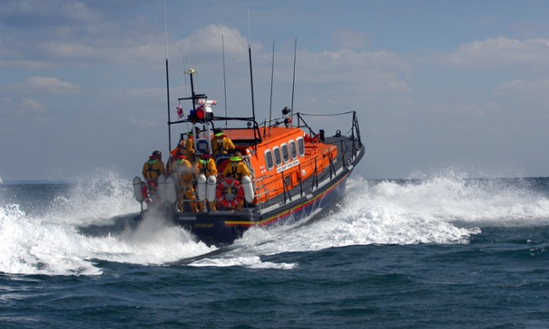 Mandatory Credit: Photo by Christopher Jones / Rex Features ( 849154f ) RNLI Swanage lifeboat RNLI Swanage Lifeboat Crew, Swanage, Dorset, Britain - May 2008