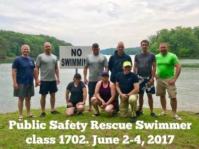 Rescue Swimmer Class 1702